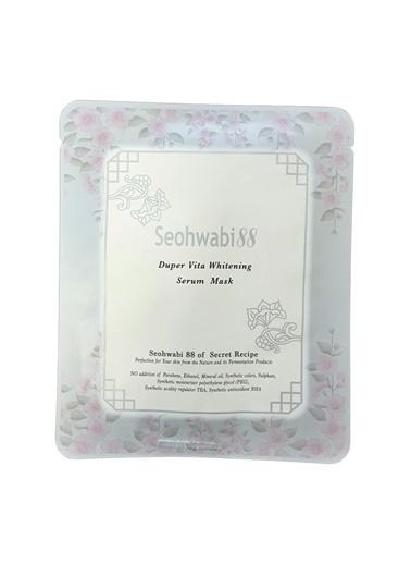 Seohwabi Duper Vita Whitening - Cilt Beyazlatıcı Ve Aydınlatıcı Yüz Maskesi Renksiz